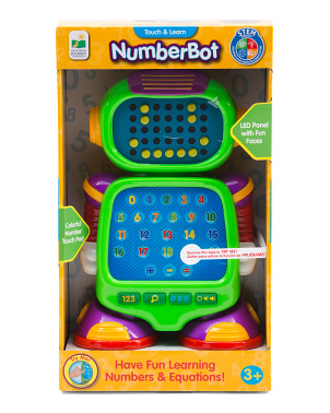 Touch & Learn Numberbot