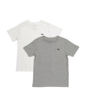 Little Boy 2pk Crew Tees