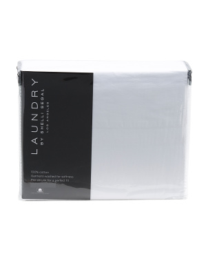 200tc Garment Washed Sheet Set