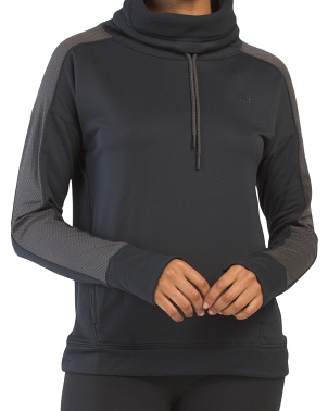 Dfo Tech Terry Funnel Neck Top