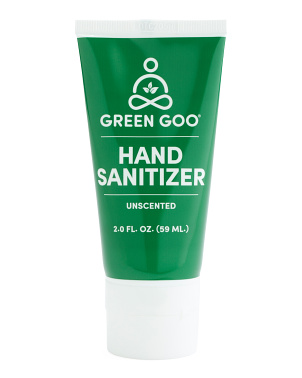 2oz Unscented Hand Sanitizer Gel Squeeze Tube