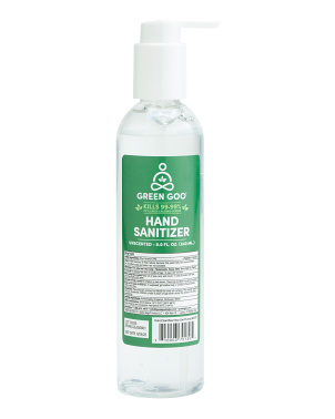 8oz Gel Hand Sanitizer With Pump