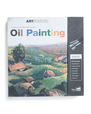 Art School Oil Painting Kit