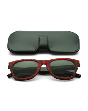 Made In Italy Square Designer Sunglasses