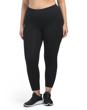 Plus Cotton Legging With Pockets