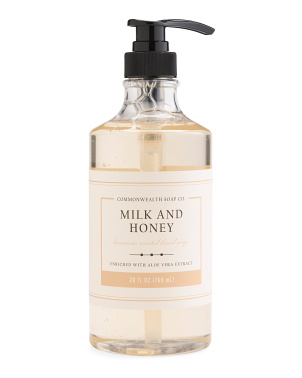 26oz Sonoma Inspired Milk & Honey Liquid Soap