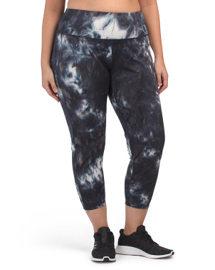 Plus Tie Dye Leggings