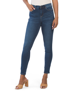 High Waisted Supersoft Knit Denim Jeans