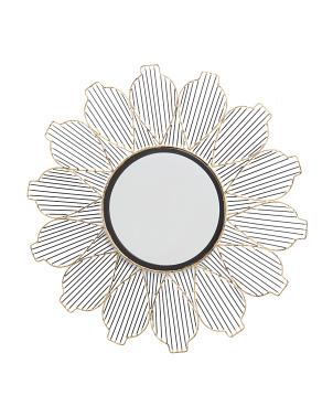 29in Metal Wall Mirror