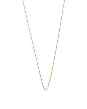 Made In Italy 14k Gold Curb Chain Necklace