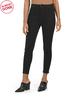 Juniors High Rise Stretchy Jeggings