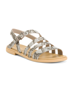 Comfort Strappy Sandals