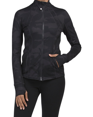 Lux Camo Yoga Jacket