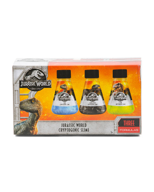 3pk Jurassic World Cryptogenic Slime