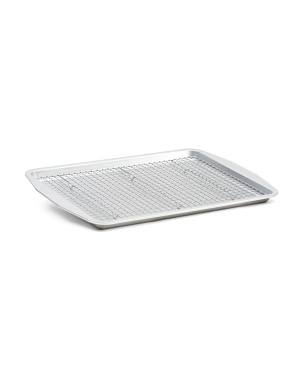 Made In Usa Nonstick Half Sheet Baking Pan With Cooling Rack