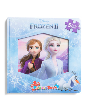 Frozen 2 My First Puzzle Book