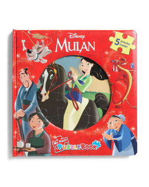 Mulan My First Puzzle Book