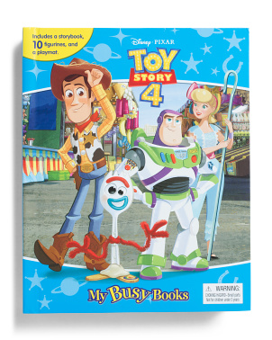 Toy Story 4 My Busy Books Set