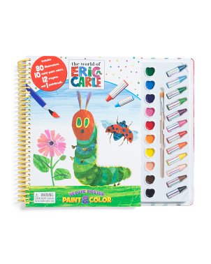 Eric Carle Deluxe Poster Paint & Color Set