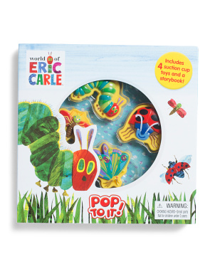 Eric Carle Pop To It Activity Book