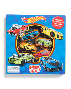 Hot Wheels Pop To It Set