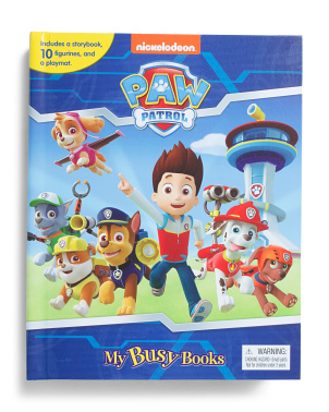Paw Patrol My Busy Books Set