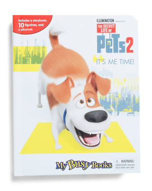 The Secret Life Of Pets 2 My Busy Books Set