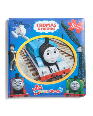 Thomas And Friends My First Puzzle Book