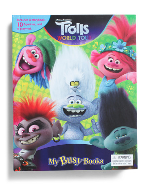 Trolls World Tour My Busy Books Set