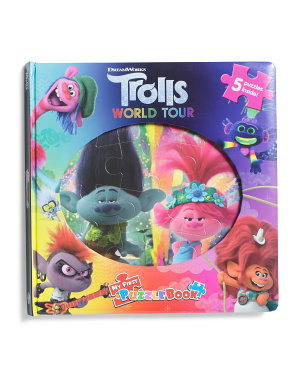 Trolls 2 My First Puzzle Book
