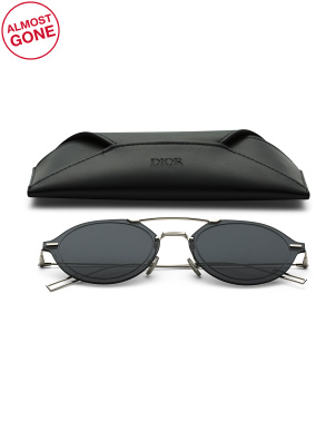 Made In Italy Oval Designer Sunglasses