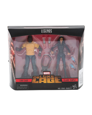 Legends Series Luke Cage & Claire Temple Action Figures