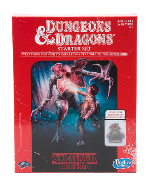 Stranger Things Dungeons & Dragons Roleplaying Starer Set