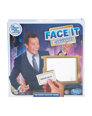 The Tonight Show Face It Challenge Party Game