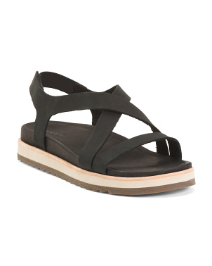 Leather Juno Backstrap Sandals