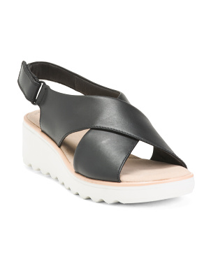 Leather All Day Comfort Sport Sandals