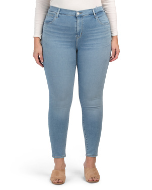 Plus 720 High Rise Super Skinny Azurite Jeans