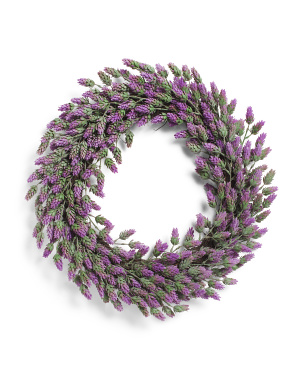 22in Lavender Wreath