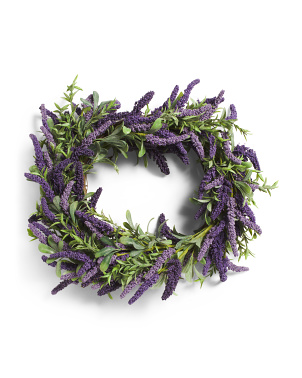 24in Lavender Wreath