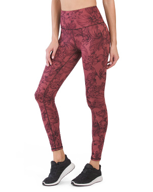 Contender Printed Leggings