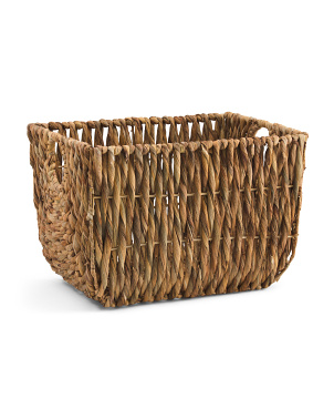 Small Natural Twisted Basket