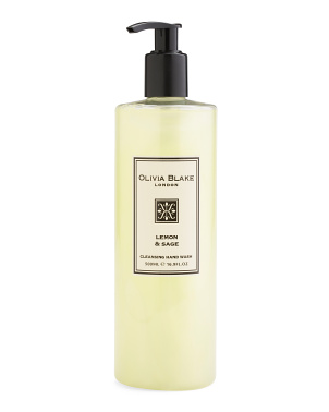 16.9oz Lemon And Sage Cleansing Hand Wash