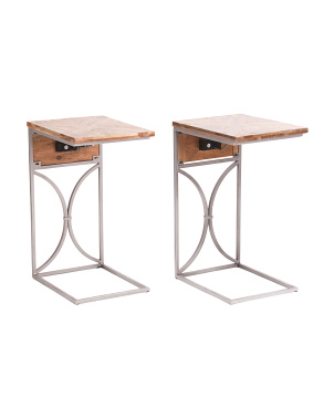 Set Of 2 Usb Tech C Tables