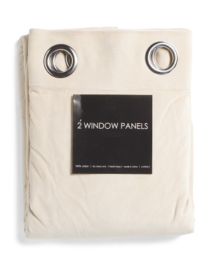 54x108 Set Of 2 Lined Heavyweight Velvet Curtains