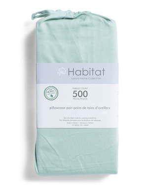 500tc Organic Pillow Case