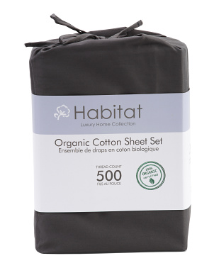 500tc Organic Sheet Set