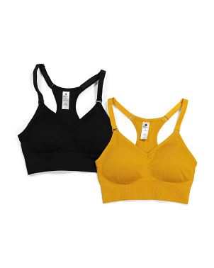 2pk Seamless Bra Tops