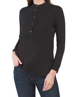 Eco Front Bib Tunic Top