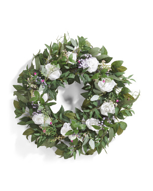 30in Rose Wreath