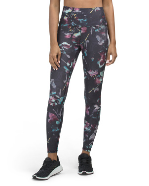 Peached Floral Leggings